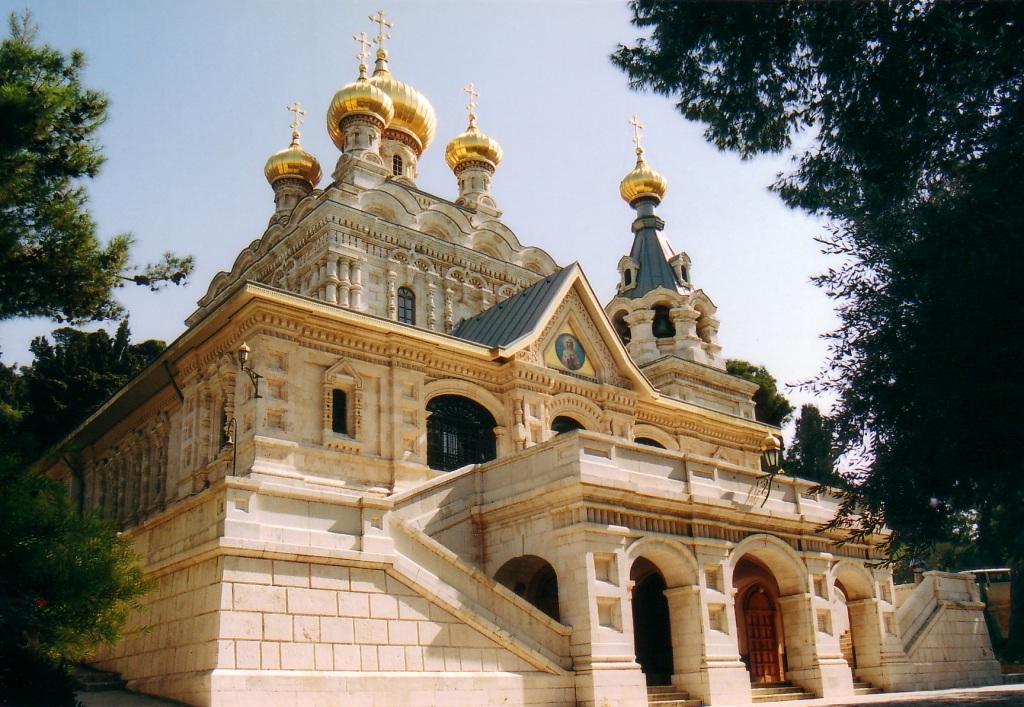 Русская духовная миссия в Иерусалиме - храм Равноапостольной Марии Магдалины