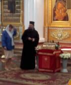 Десница св. Георгия в Успенском соборе Ярославля
