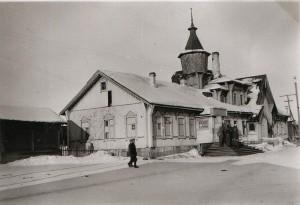 Станция Медвежья гора. 1941г.