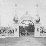 Ворота, построенные к визиту в Переславль царя Николая Второго