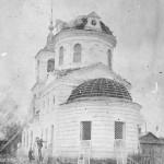 Разрушение Крестовоздвиженской церкви