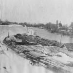 Вид на Трубеж зимой
