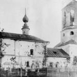 Старая церковь на кладбище