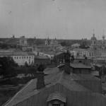 Вид с Соборной колокольни (Серг. ц.)