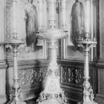 Придел пр. Сергия у храма Похвалы в Даниловом монастыре